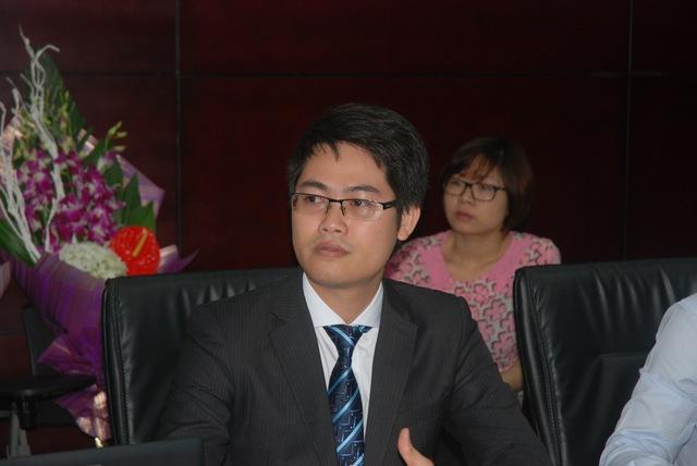Ông Trần Hoàng Sơn, giám đốc chiến lược Công ty Chứng khoán MBS