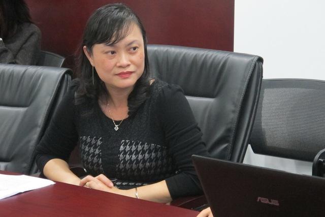 Bà Trần Thị Thanh Tân, thành viên HĐQT Tasco