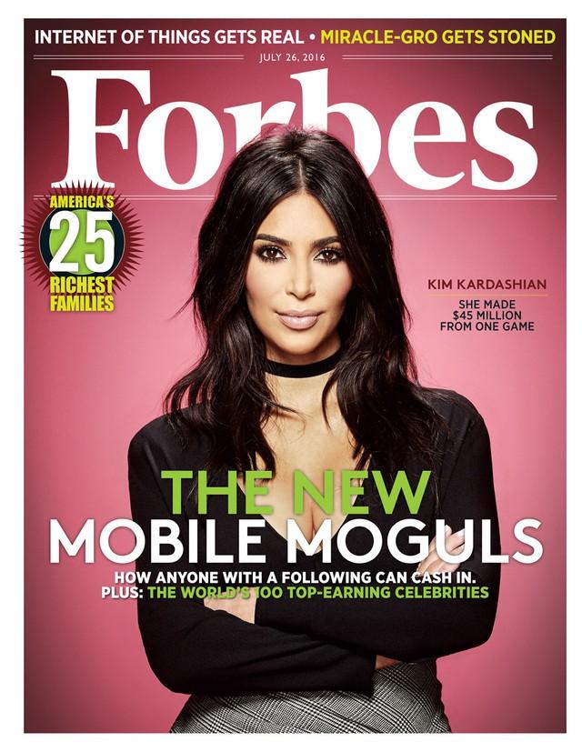 Trang bìa tạp chí Forbes tháng 7. Ảnh: Forbes.