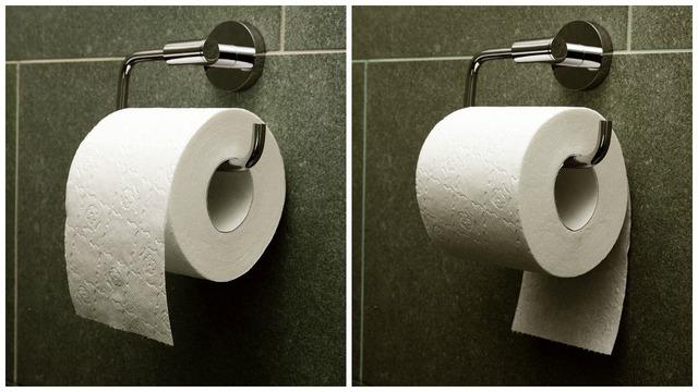 Ít ai ngờ, cách kéo giấy vệ sinh cũng nói lên sự quyết đoán.