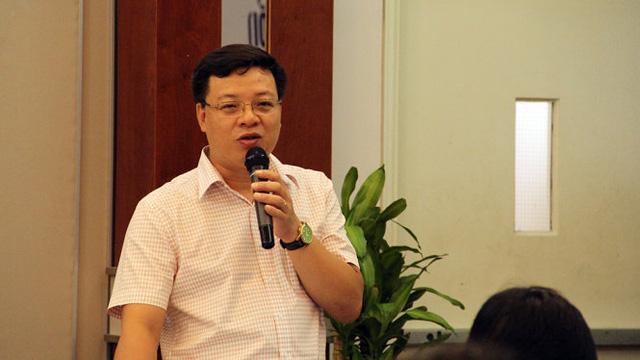 Ông Nguyễn Tuấn Anh phát biểu tại hội thảo - Ảnh: TUYẾT MAI