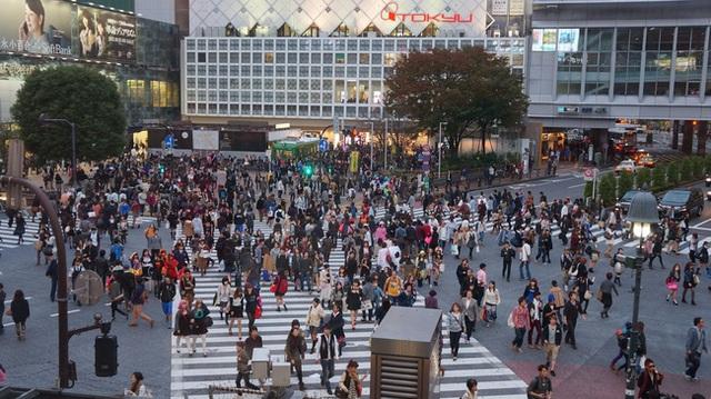 Người dân đi bộ rất nhiều, thay vì sử dụng các phương tiện cá nhân.
