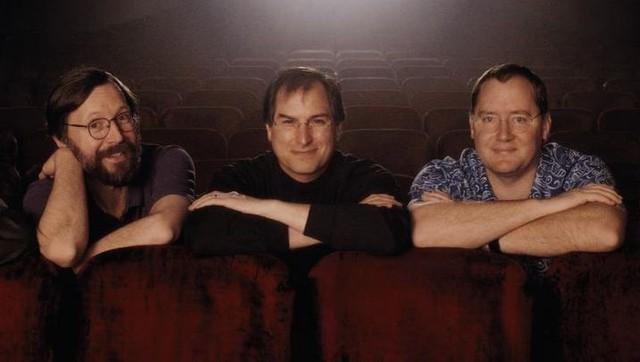 Bộ 3 quyền lực của Pixar Jobs – Catmull – Smith trong những ngày đầu.