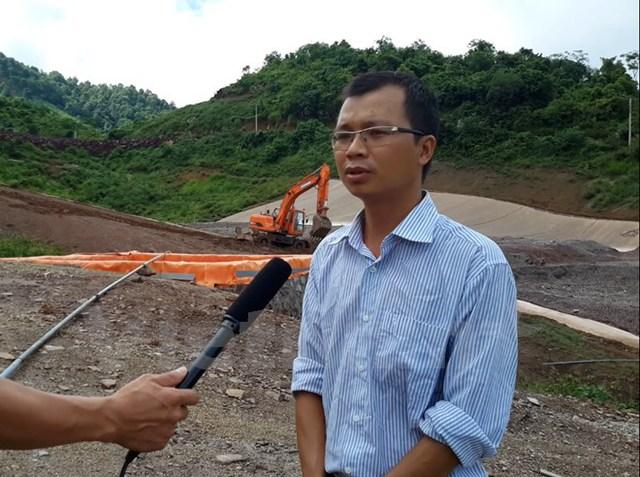 Ông Trần Trung Chính, giám đốc Công ty TNHH Đồng An Phú. (Ảnh: Võ Phương/Vietnam+)