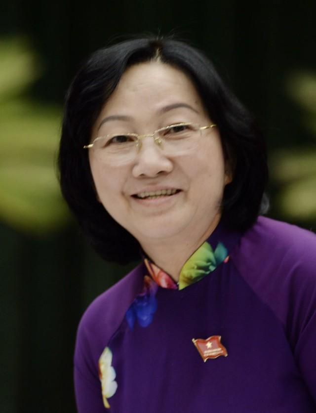 Bà Trương Thị Ánh, phó chủ tịch HĐND TP.HCM - Ảnh: Tự Trung