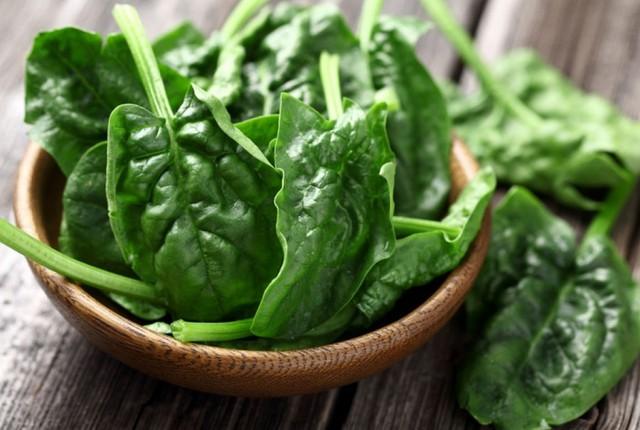 Rau bina là được mệnh danh là thực phẩm não bộ.