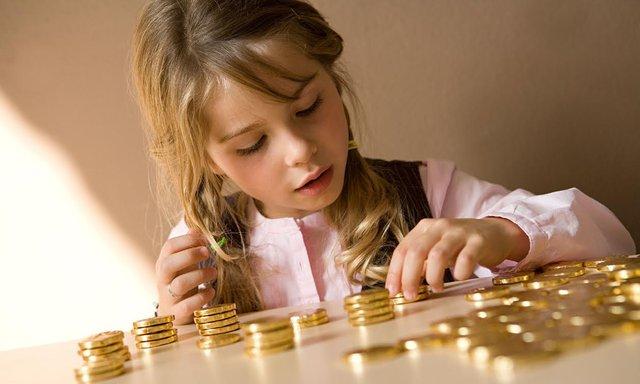 Trẻ có thể bộc lộ khả năng kinh doanh ngay từ khi còn nhỏ.