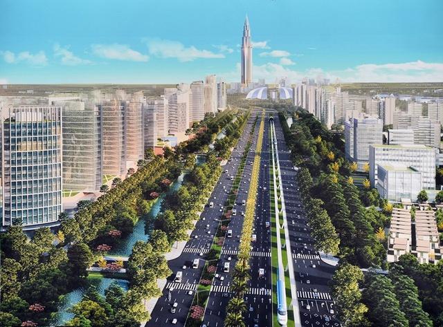 Đồ án quy hoạch được đánh giá tầm cỡ quy mô bậc nhất này sẽ tạo nên điểm nhấn cho không gian, kiến trúc khu vực cửa ngõ Thủ đô, tạo động lực thúc đẩy phát triển đô thị khu vực phía Bắc sông Hồng, và góp phần thúc đẩy phát triển kinh tế - xã hội của thành phố.