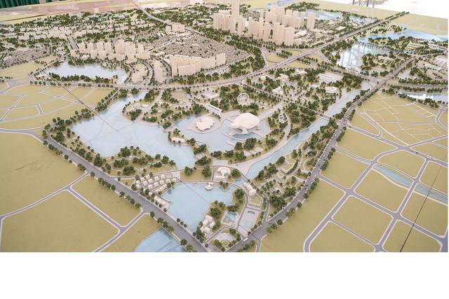 Quy hoạch tái hiện hình ảnh truyền thống Thăng Long- Hà Nội với ý tưởng chính là Rồng đón ngọc, xương sống chính là tuyến đường cao tốc kết nối từ Sân bay về trung tâm TP, đầu Rồng quay về sông Hồng – Hồ Tây.