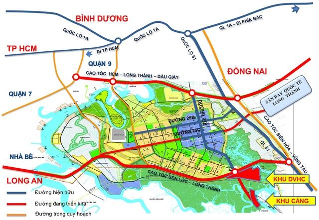 Vị trí của cảng Phước An