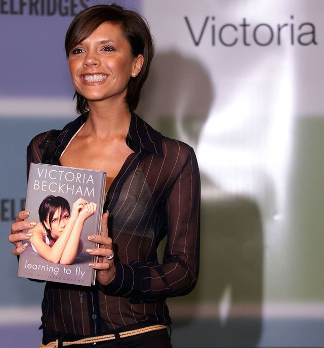 Cuốn tự truyện Learning to fly của Victoria ra mắt vào năm 2001. Trong đó cô bộc bạch, bộ phim Danh vọng đã truyền cảm hứng để cô trở thành người nổi tiếng. Quyển tự truyện thứ hai, That Extra Half an Inch: Hair, Heels, and Everything in Between, được tung ra vào năm 2006. Cả hai cuốn sách đều nằm trong danh sách bán chạy.