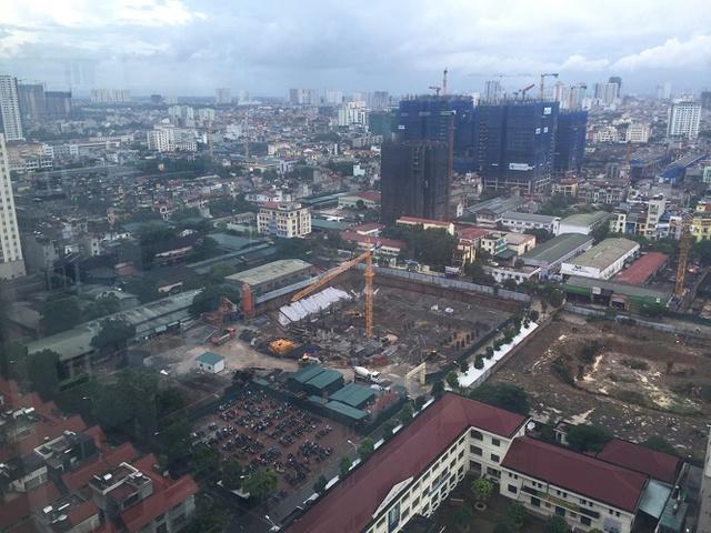 Toàn cảnh dự án đang triển khai xây dựng