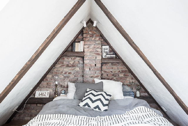 Giường ngủ trở nên có hồn hơn khi được thiết kế theo phong cách Vintage.