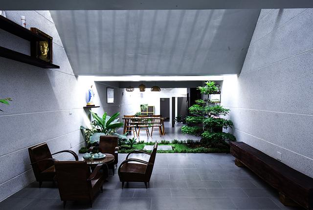 Mọi ngóc ngách trong căn nhà đều tràn ngập cây xanh và ánh sáng