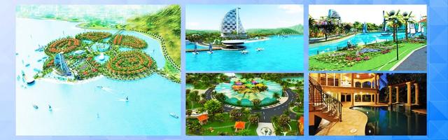 Đảo Hoa Phượng theo thiết kế