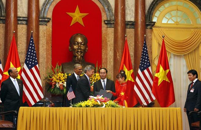 Lễ kí kết giữa Vietjet và Boeing