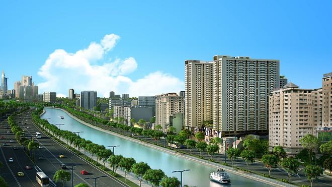 """Dự án BĐS ven sông Sài Gòn độc và lạ """"làm nóng"""" thị trường địa ốc"""