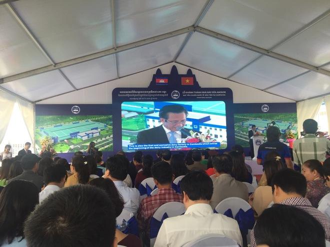 Vinamilk khánh thành Nhà máy sữa duy nhất vốn đầu tư 23 triệu đô tại Campuchia