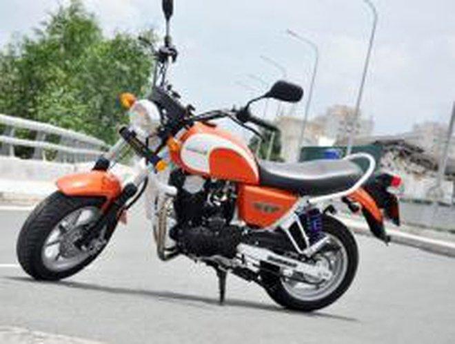 Xe mô tô rẻ nhất Việt Nam giá 28 triệu đồng