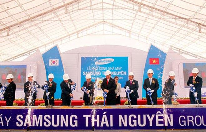 Hàn Quốc dẫn đầu với tổng vốn đầu tư đăng ký cấp mới và tăng thêm là 3,42 tỷ USD, chiếm 33,7% tổng vốn đầu tư vào Việt Nam. Hình minh họa: cafef.vn