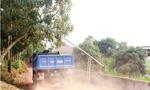 """Hà Nội: """"Né"""" trạm thu phí, xe tải """"đổ bộ"""" vào đường làng"""