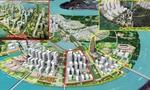 Hàn và Nhật cùng xây khu phức hợp hơn 2 tỷ USD trên bán đảo Thủ Thiêm, điểm nhấn là cao ốc 50 tầng