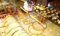 Giá vàng nối đà giảm mạnh