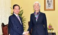 Thủ tướng tiếp Tổng Giám đốc Quỹ Tiền tệ Quốc tế
