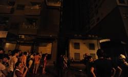 Cháy ở chung cư Xala